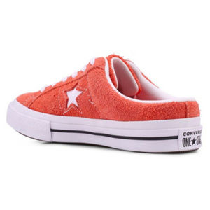 New Converse Rush Coral Suede Mules